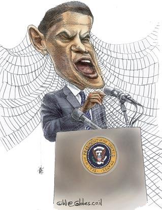 ברק אובמה / מאייר: גיל ג'יבלי